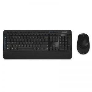 סט מקלדת ועכבר אלחוטיים Microsoft Wireless Desktop 3050