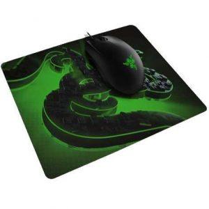 עכבר ומשטח Razer Abyssus Lite&Go