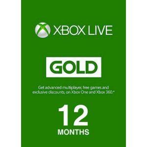 מנוי 12 חודשים XBOX Live