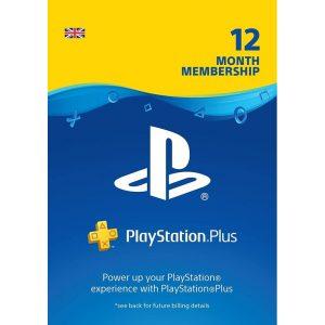 מנוי PS4 Plus לשנה