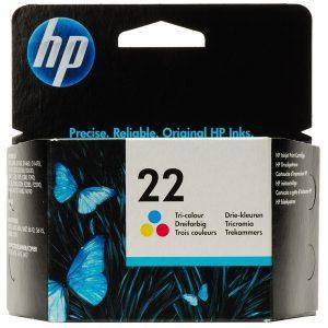 ראש דיו מקורי צבעוני HP22/HP22XL