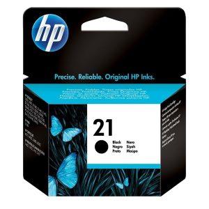 ראש דיו מקורי שחור HP21/HP21XL