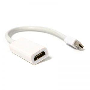 מתאם MINI DisplayPort זכר ל-HDMI נקבה