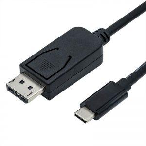 כבל מחיבור Type-C לחיבור DisplayPort