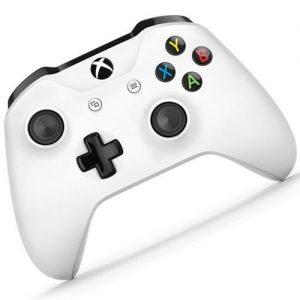שלט Xbox אלחוטי בצבע שחור/לבן