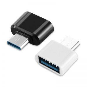 מתאם מחיבור USB 3.1 Type-C זכר לחיבור OTG USB נקבה