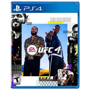 משחק UFC 4 PS4
