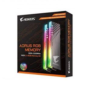 זיכרון Gigabyte AORUS RGB 16GB (8GBX2) 3200MHz