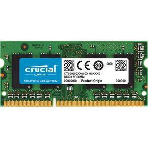 זיכרון לנייד Crucial 8GB DDR3