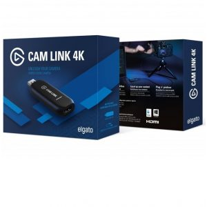 כרטיס לכידה Elgato Cam Link 4K Live Video Streaming