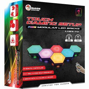 לבני תאורה דקורטיביים DRAGON דגם MODULAR LED BRICK