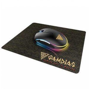 עכבר+משטח Gamdias ZEUS E1 RGB